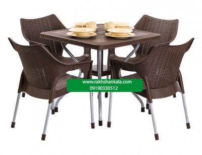 ست میز و صندلی 4 نفره sa