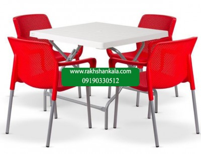 ست میز و صندلی 4 نفره nilo