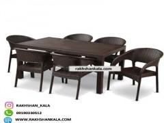 ست میز و صندلی 6 نفره R_VOR