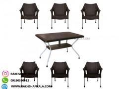 ست میز و صندلی 6نفره mo کد 991621