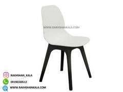 صندلی بدون دسته کندو با پایه پلاستیکی