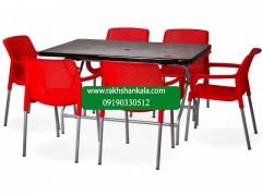ست میز و صندلی 6 نفره niloo