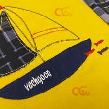 تیشرت و شلوار طرح قایق