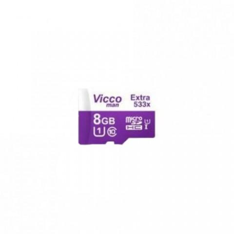 کارت حافظه ویکومن Extra 533X ظرفیت 8 گیگابایت