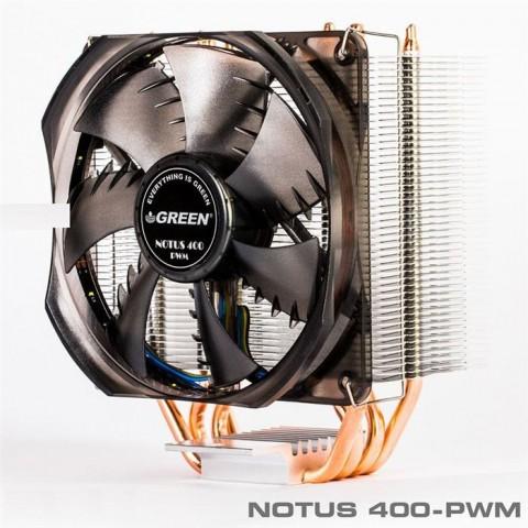 خنک کننده پردازنده گرین NOTUS 400-PWM