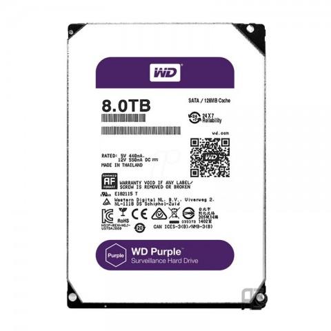 هارددیسک اینترنال وسترن دیجیتال Purple ظرفیت 8 ترابایت