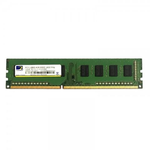 رم دسکتاپ DDR3 تک کاناله 1600 مگاهرتز توین موس مدل Mainstream ظرفیت 4 گیگابایت