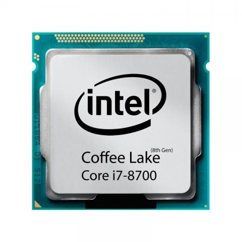 پردازنده مرکزی اینتل Coffee Lake Core i7-8700