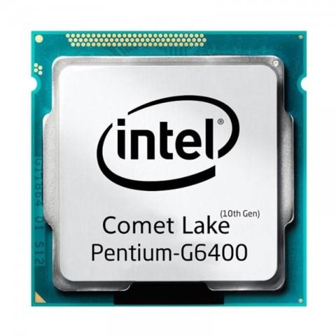 پردازنده مرکزی اینتل  Pentium Gold G6400 Comet Lake TRAY