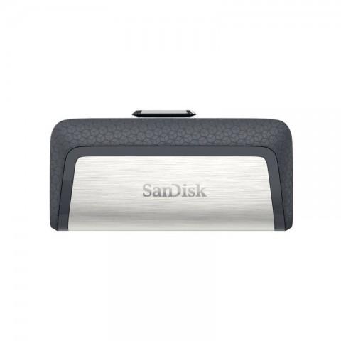 فلش مموری سن دیسک Ultra Dual Drive USB Type-C ظرفیت 32 گیگابایت گارانتی اصلی ایران رهجو