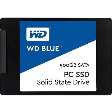 اس اس دی اینترنال وسترن دیجیتال BLUE WDS500G1B0A ظرفیت 500 گیگابایت