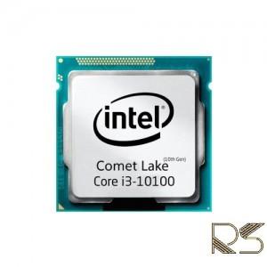 پردازنده مرکزی اینتل سری Comet Lake مدل Core i3-10100