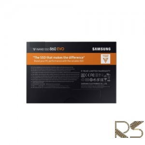 اس اس دی اینترنال سامسونگ 860 Evo ظرفیت 500 گیگابایت