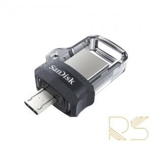 فلش مموری سن دیسک Ultra Dual Drive M3.0 ظرفیت 64 گیگابایت