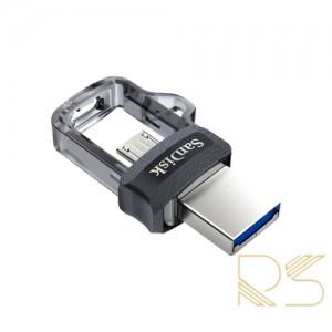 فلش مموری سن دیسک Ultra Dual Drive M3.0 ظرفیت 128 گیگابایت