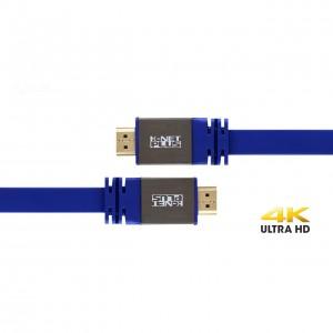 کابل HDMI 2.0 Flat کی نت پلاس مدل KP-HC161 به طول 3 متر