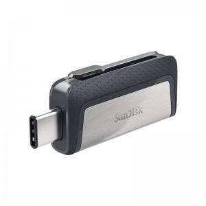 فلش مموری سن دیسک Ultra Dual Drive USB Type-C ظرفیت 64 گیگابایت گارانتی اصلی ایران رهجو