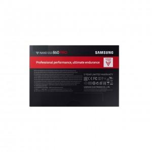 اس اس دی اینترنال سامسونگ 860 pro ظرفیت 256 گیگابایت