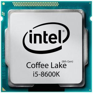 پردازنده مرکزی اینتل Coffee Lake Core i5-8600K Tray