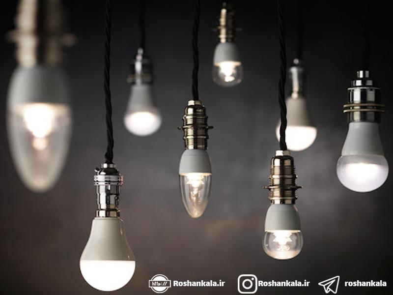 آشنایی با انواع لامپ