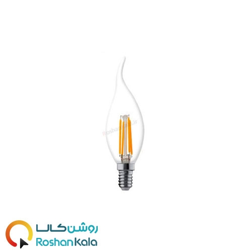 لامپ LED اشکی ۴ وات فیلامنتی پارس شعاع توس