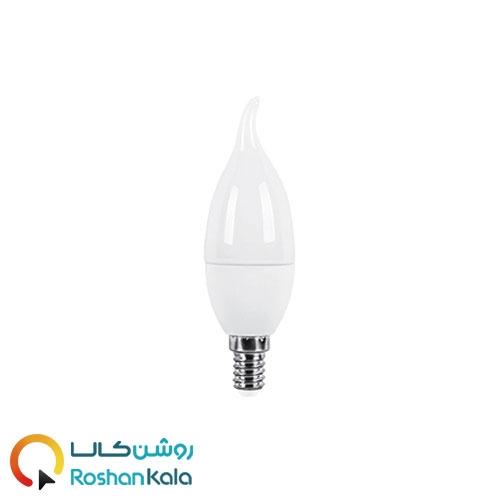 لامپ LED اشکی ۷ وات مات پارس شعاع توس