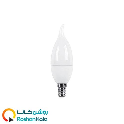 لامپ LED اشکی ۶ وات مات پارس شعاع توس