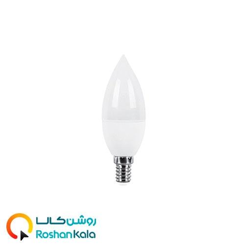 لامپ LED شمعی ۶ وات مات پارس شعاع توس