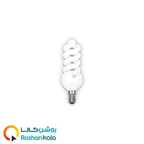 لامپ کم مصرف ۱۳ـ۱۲ وات E14 وات پارس شعاع توس