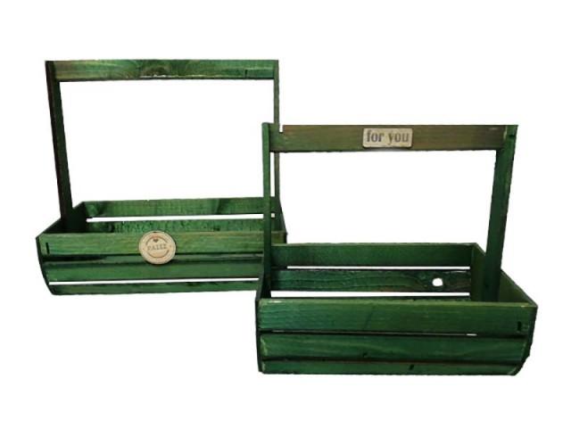 جعبه چوبی 2تکه مدل 1487