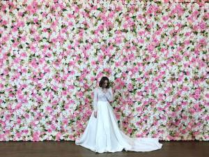آموزش ساخت دیوار گل یا تابلوی گل + فیلم