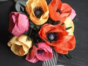 آموزش گل سازی با کاغذکشی - قسمت دوم + فیلم