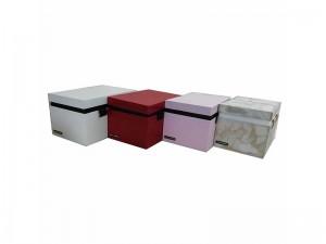 جعبه چوبی مستطیل 2طبقه مدل 0386
