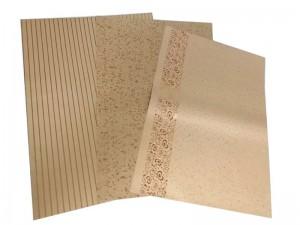 ورق کاغذ کرافت طلاکوب مدل 0606