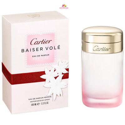 8e6461bab عطر زنانه بیسر ول فرش برند کارتیر ( CARTIER - BAISER VOLE EAU DE PARFUM  FRAICHE )