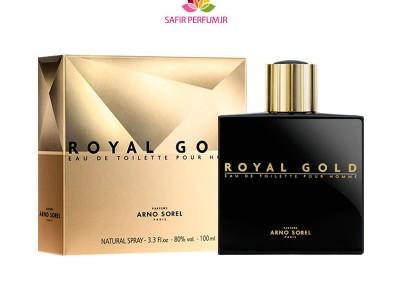 عطر و ادکلن مردانه رویال گلد برند آرنو سورل  (  ARNO SOREL  -  ROYAL GOLD   )