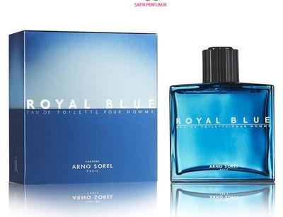 عطر و ادکلن مردانه رویال بلو برند آرنو سورل  (  ARNO SOREL  -  ROYAL BLUE   )