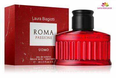 عطر و ادکلن مردانه روما پشن اومو برند لورا بیاجیوتی  (  LAURA BIAGIOTTI  -  ROMA PASSIONE UOMO    )