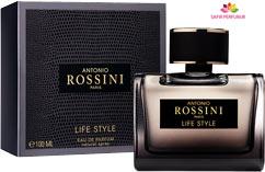 عطر و ادکلن مردانه لایف استایل برند آنتونیو روسینی  ( ANTONIO ROSSINI  -  LIFE STYLE    )