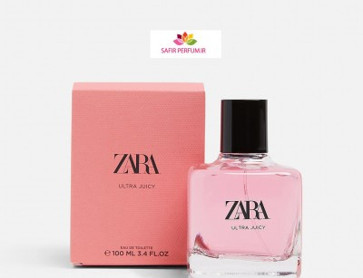 عطر و ادکلن زنانه اولترا جوسی برند زارا  (  ZARA   -  ULTRA JUICY   )