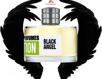 عطر و ادکلن مردانه و زنانه بلک انجل برند مارک باکستن  (  MARK BUXTON  -  BLACK ANGEL    )
