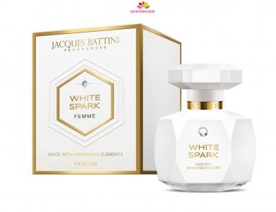 عطر و ادکلن زنانه وایت اسپارک برند جکز باتینی  (  JACQUES BATTINI  -  WHITE  SPARK   )