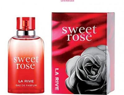 عطر و ادکلن زنانه سوییت رز برند لا ریو  (   LA RIVE   -  SWEET ROSE   )