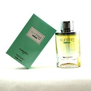 عطر مردانه  سان رایز وتیور  برند فرانک اولیویر   ( Franck Olivier  - sunrise vetiver men  )