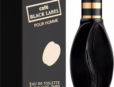 عطر و ادکلن مردانه کافه بلک لیبل برند کافه پارفومز  (  CAFE PARFUMS  -  CAFE BLACK LABEL     )