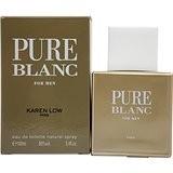 عطر مردانه پیور بلانک برند جی پارلیس  ( Geparlys  -  pure blanc )