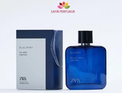 عطر مردانه بلو اسپیریت  برند زارا  (  ZARA   -  MAN BLUE SPIRIT    )