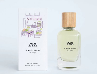 عطر و ادکلن زنانه ا موچی اتلییر این توکیو برند زارا   (  ZARA  -  A MOCHI ATELIER IN TOKYO    )