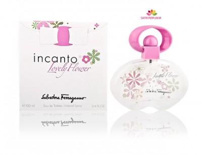 عطر زنانه  اینکانتو لاولی فلاور برند سالواتوره  فراگامو  ( Salvatore Ferragamo -    Incanto Lovely Flower   )