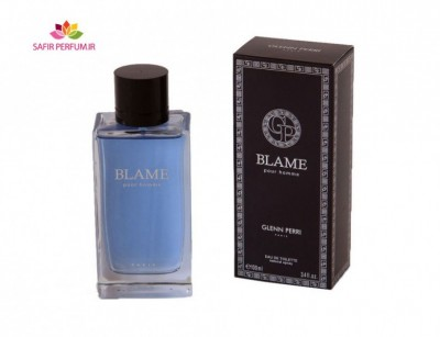 عطر مردانه بلیم  برند جی پارلیس  ( GEPARLYS  -   Blame )